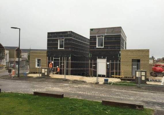 Démarrage des travaux du programme Pavillons Bel Air à Dainville
