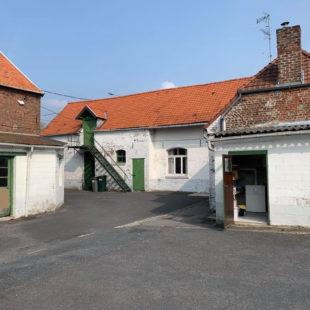 Ancien corps de ferme sur la commune de quérénaing