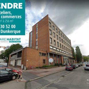 Local commercial de 256 m² avec double entrée