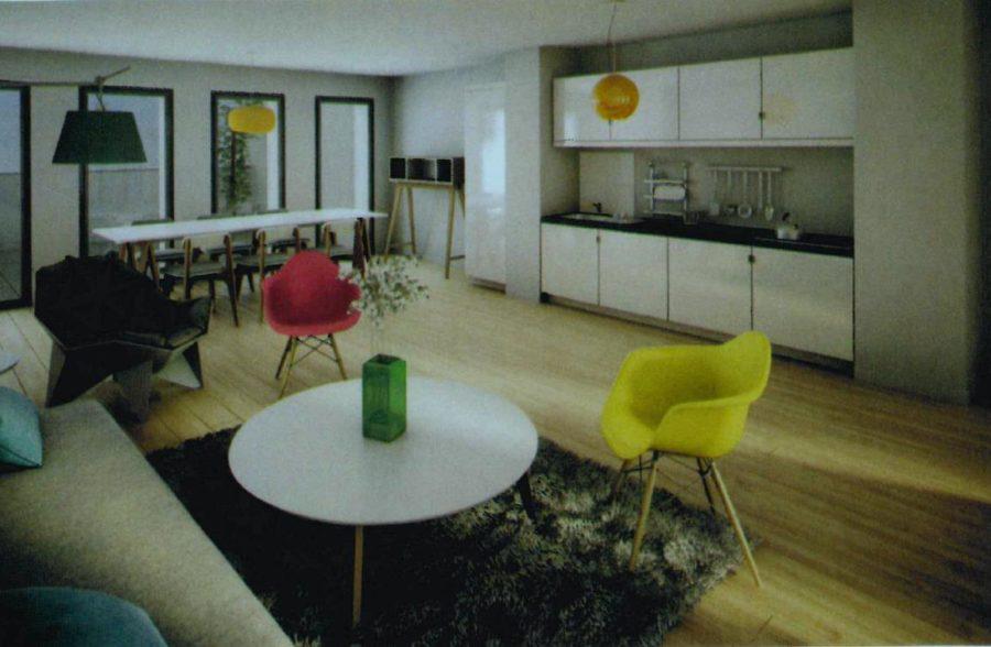 Lille vauban / la catho : t3 avec balcon – vente en État futur d'achevement