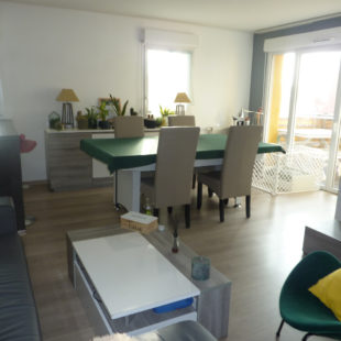 Appartement 83 m² avec 3 chambres, balcon sud/ouest et garage