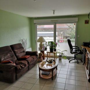 Location appartement 2 pieces à Calais