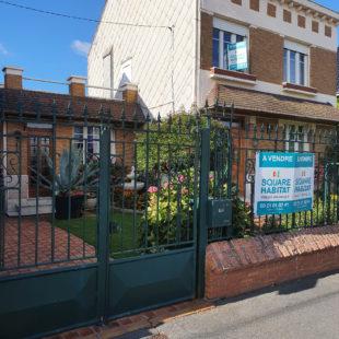 Maison de maître sur lillers proche de tout, 125 m² habitables, trois chambres, jardin et garage