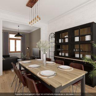 Maison type 1930- 3 chambres – jardin